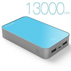 KAYO MAXTAR Power Pack Power Bank 13000mAh High Capacity Portable Charger Dual ports USB Battery Pack 5V 2.1A Backup Battery Fast Charging External Battery Charger For Cell Phone Mobile Phone Apple iPhone 6 Plus 6 5S 5C Iphone 5 IPad Ipod Tablet PC Mobile Smart Phone Motorola Moto X G Samsung Galaxy S6 S5 S4 S3 S2 HTC One One 2 (M8) Nokia LG Android Kindle Fire Car DVR PSP PDA Video Game Machine Mp3 Mp4 Camera Bluetooth Speakers headphones Wireless Device and Most USB Digital