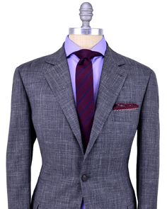 Brunello Cucinelli | Grey Glen Plaid Suit | Apparel | Men's