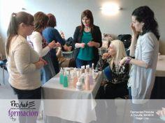 #formacionProdube Taller práctico con técnico de Stage Line Professional Make-up — en Hotel Attica 21.