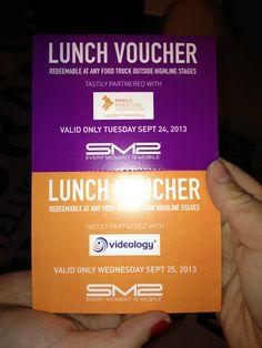 Food truck voucher
