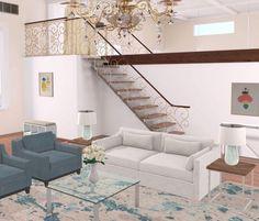 Chateau Abode #designhome #interiordesign #interiorlovers. Stairs ClassicChateausDetails