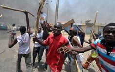 Irate Mob Kill Policeman and Burn 4 Vehicles in Onitsha