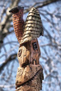 bark carving