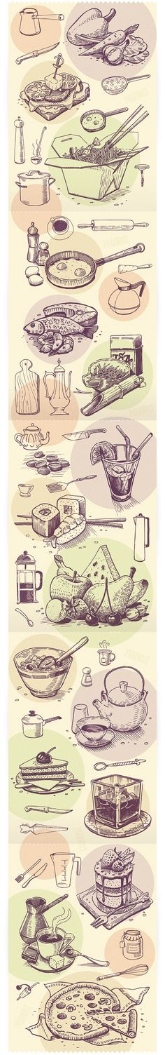 Food Illustration - PakoArt
