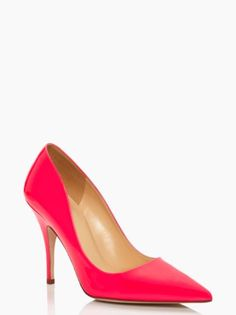 Kate Spade patent Licorice heel EEP!  They are finally on sale!
