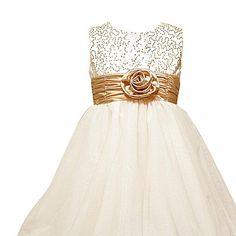 $30.00 flower girl dress