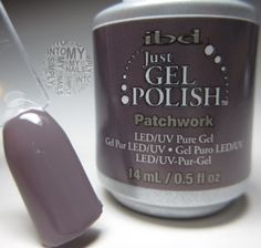 Patchwork IBD Just Gel Polish (Floral Metric)