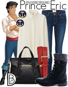 This Prince Eric outfit from The Little Mermaid is easily adapted for guys and gals  | Disney Fashion | Disney Fashion Outfits | Disney Outfits | Disney Outfits Ideas | Disneybound Outfits |
