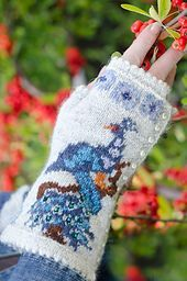 Image result for peacock mittens