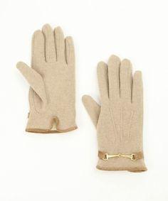 ROPE'PICNIC PASSAGE - Beige Gloves