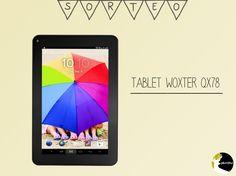 Sorteo Tablet Woxter QX78 Negra