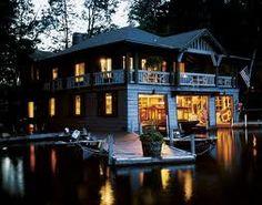 Beautiful Boathouse | Adirondack Great Camps