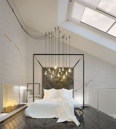 Making A Statement In Your Bedroom: 25 Edgy Industrial Beds | DigsDigs