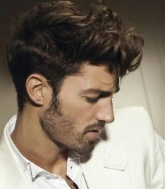 Men haircut hairstyle