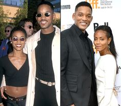Jada Pinkett Smith and Will Smith  Pinkett Smith met her future husband in 1990 when she auditioned to play his girlfriend on The Fresh Prince of Bel-Air. Though the role went to Nia Long, the two became friends and began dating in 1995. The actors were wed at The Cloisters in Lutherville, Md., on Dec. 31, 1997. They