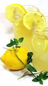Inspired By eRecipeCards: Vanilla Mint Sweet Lemonade (BEST EVER) - Grilling Time Drinks