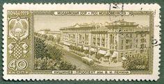 Moldavian SSR, Kishinev. Country: USSR, Series: Capitals of the autonomous republics, Theme: Architecture, Issued: 1958