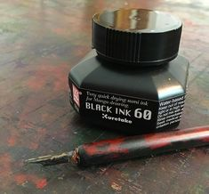 Dip Pen and Ink for Christmas cards.