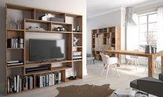 Modern TV stand + Wall storage unit