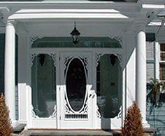 Wooden screen door I want! | For the Home | Pinterest | Wooden ...