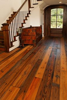 Reclaimed Rustic White Pine Flooring In A Lynnfield Ma