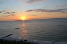 Sunset on Marco Island, FL .  Great vacation here.