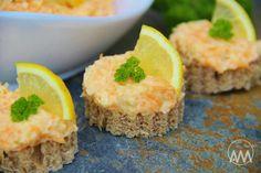 V kuchyni vždy otevřeno ...: Celerovo - mrkvová pomazánka alla humr Cornbread, Appetizers, Low Carb, Ethnic Recipes, Food, Spreads, Millet Bread, Appetizer, Essen