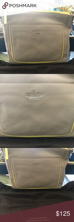 Kate Spade WOODS DRIVE SMALL HARRIS New without tags with original dust bag. Never used, stored in original dust bag with original stuffing.    COLOR: ALMONDINE/SUNLIGHT STYLE #: PXRU6369 kate spade Bags Shoulder Bags