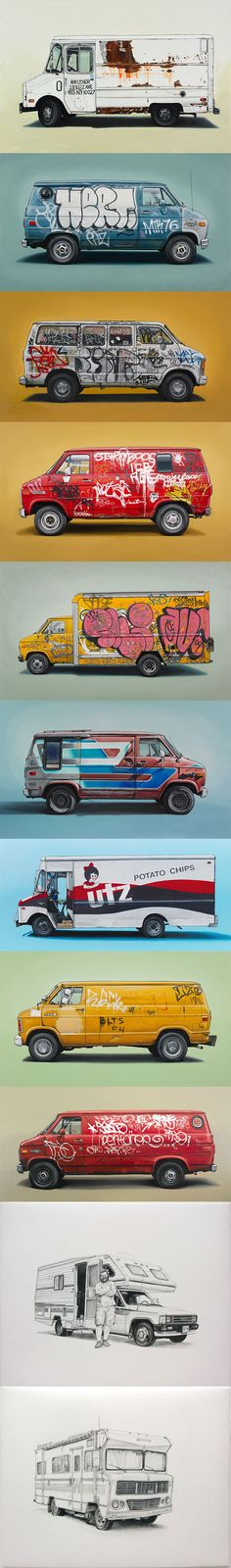The fantastic oli paintings by Kevin Cyr