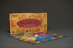 """Das Racist!"" is a satirical board game that creates a conversation about racism by poking fun at history, politics, pop culture, and stereotypes in society."