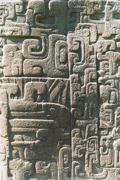 Petroglyphs found in Mayan Ruins of Guatemala Mayan Ruins, Ancient Ruins, Ancient Art, Ancient History, Ancient Mysteries, Tikal, Colombian Art, Guatemala, Aztec Art