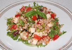 Insalata di farro, scopri la ricetta: http://www.misya.info/ricetta/insalata-di-farro.htm