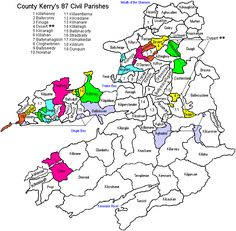 Civil Parishes of County Kerry and Their Townlands Irish Language, My Ancestors, Love My Family, Ancestry, Family History, Genealogy, Civilization, The Incredibles, Roots