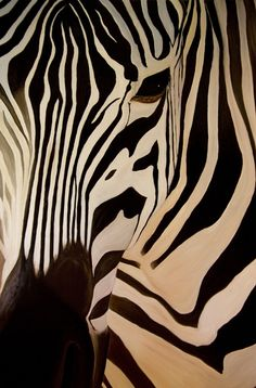 zebra paintings on canvas