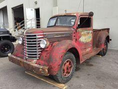 Rockin' Roller: 1949 Diamond T Model 201 Vintage Pickup Trucks, New Trucks, Cool Trucks, Hot Rod Pickup, Old Pickup, Truck Transport, Panel Truck, Heavy Truck, Commercial Vehicle