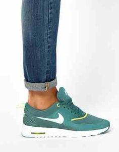 free shipping 4490f de8f6 Nike Air Max Thea Teal Trainers wish list to wear with skinny jeanskhakis  for casual work days