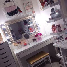#makeup #vanity #diy #girlrooms