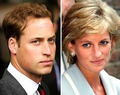 Prince William, the spitting image of his mother the late Diana, Princess of Wales.