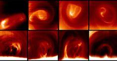 Los vórtices del polo sur de Venus se mueven a una velocidad de hasta 55 km/hora http://www.rtve.es/noticias/20130325/vortice-del-polo-sur-venus-se-mueve-forma-caotica-gran-velocidad/624061.shtml#