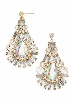 so pretty - love the clear and opal crystals!
