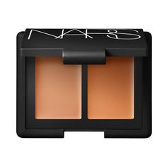 (Oct 2014) NARS Duo Concealer, Caramel/Amande | Beauty.com ~ how great is this, I can carry both of my concealers with me when I travel in one convenient compact UPDATE: still using Feb 2015 and its my go to travel compact and also just for daily use at home. blends out smooth. I mix both shades for my under eye area too.