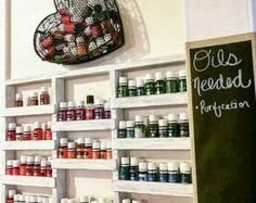 Nail polish shelf housewarming gift Essential Oils Shelf