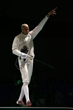 Meet Miles Chamley-Watson, who loves Korean barbecue and happens to be the coolest thing to ever happen to the world of fencing
