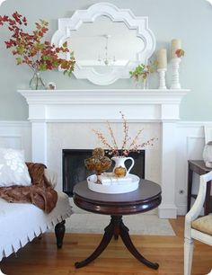 Inspired Holidays {Day 10}:: Tips for Mantels & Display Shelves - The Inspired Room