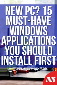 Got a new computer or just reinstalled Windows? These essential apps are must-have software for Windows no matter what! Life Hacks Computer, Computer Diy, Computer Projects, Computer Basics, Computer Science, Technology Hacks, Technology Updates, Windows Software, Microsoft Windows