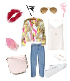 """Untitled #7"" by halaszzsofi on Polyvore featuring Monki, Alexander Wang, Reebok, L'Agence, Vanessa Mooney, Ray-Ban, SoapRocks, Bobbi Brown Cosmetics and Victoria's Secret"