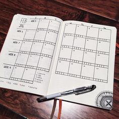 Day 2 of the #planwithmechallenge is February Monthly. This month, I am doing something completely different for my calendar. I missed the calendar view in grid form....