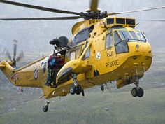 Royal Air Force Rescue Sikorsky S-61 Sea King