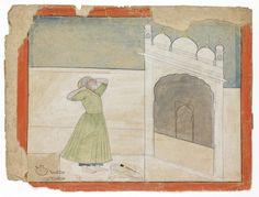 Pahari, after nainsukh 1770