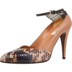 Valentino Python-Capped Lattice Pump